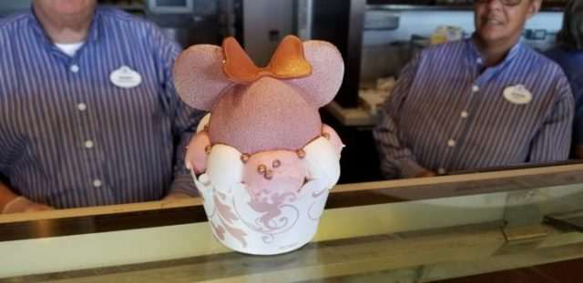 Boardwalk Bakery Takes the Cake with this Giant Rose Gold Cupcake 1