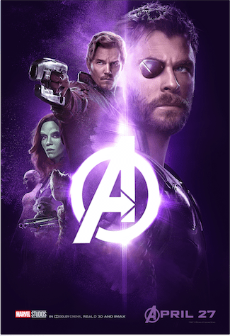 Check Out the New Character Group Posters Out Now For Avengers: INFINITY WAR 1