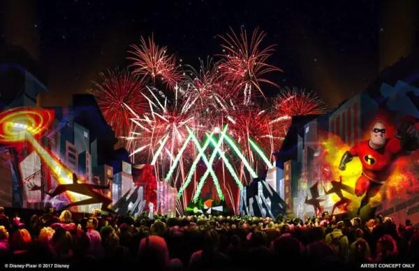 Video: Fireworks Testing For 'Together Forever – A Pixar Nighttime Spectacular' At Disneyland 1