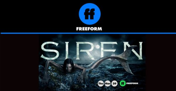 Freeform's Siren premiers March 29 8/7c