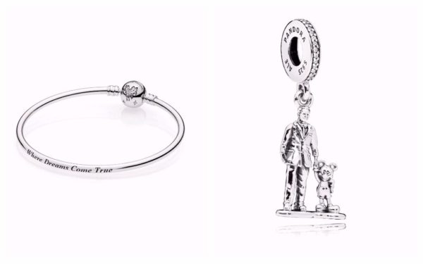 eaaec2d70 New Disney Parks Exclusive Pandora Charms and Bangle