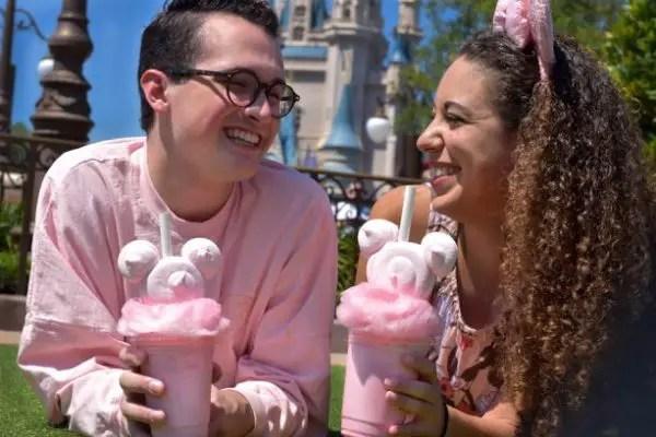 Millennial Pink Milkshake