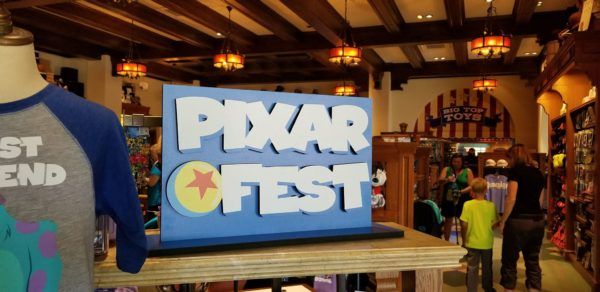 Pixar Fest Annual Passholder Merchandise