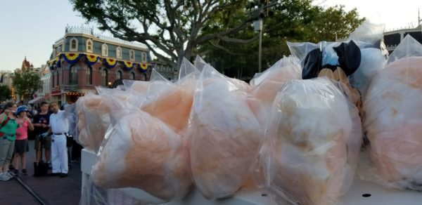 Rose Gold Cotton Candy Now Available at The Disneyland Resort 1