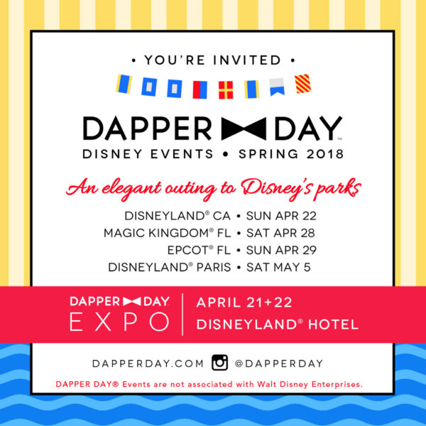 Disney Dapper Day
