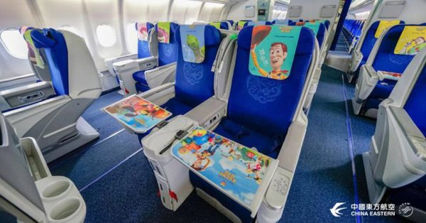 China Eastern Airline's Toy Story Themed Plane Takes Maiden Flight 3