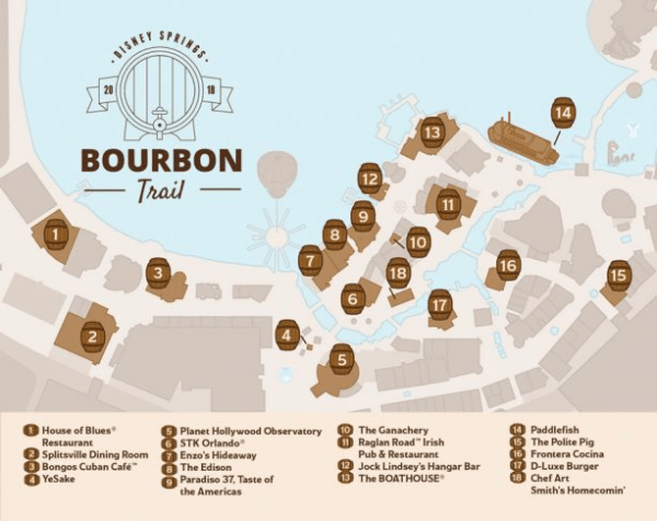 Check Out The New Bourbon Trail At Disney Springs 2