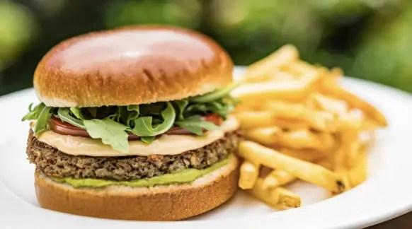 Disney Earth Day Burgers