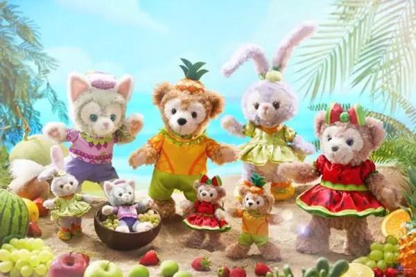 Cute Duffy and Friends Merchandise Coming to Hong Kong Disneyland 1