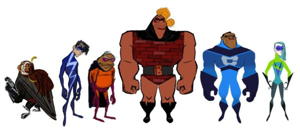 The Wannabe Supers Concept Art From The Incredibles 2 Released 1