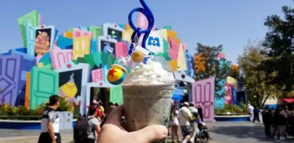 Mint Chip Shakes and Pixar Straws Available at Disneyland 1