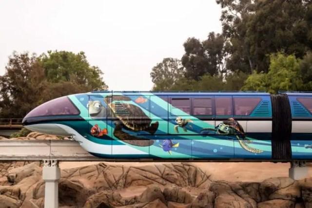 Disneyland Unveils Pixar-themed Monorail Enhancements in Celebration of Pixar Fest 3