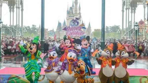 The 35th Anniversary Celebration of Tokyo Disney Resort's is Here 1