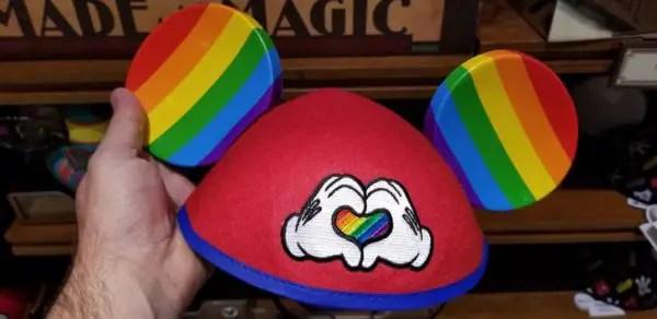Rainbow Pride Mickey Merchandise