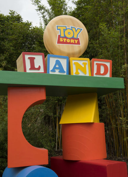 Toy Story Land Photos