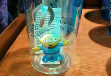 Oooooh Check Out The Green Alien Light Up Tumbler From Pixar Fest Chip And Co