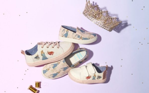 Disney Princess Toms Collaboration
