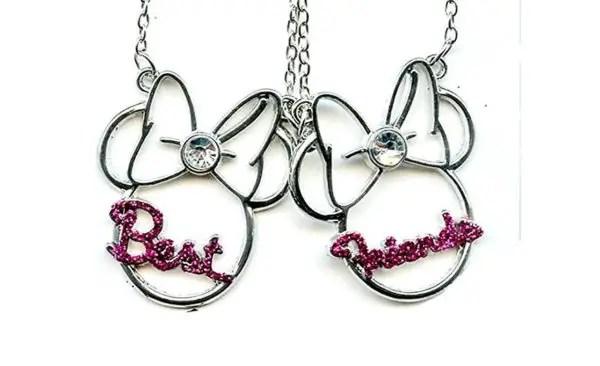 Minnie Mouse Best Friends Necklaces