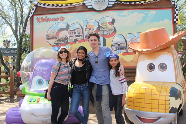 Zach Braff and Friends Visit Pixar Fest 2