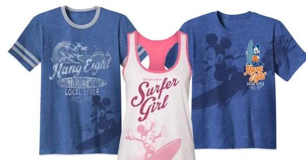 Disney Surf Shirts