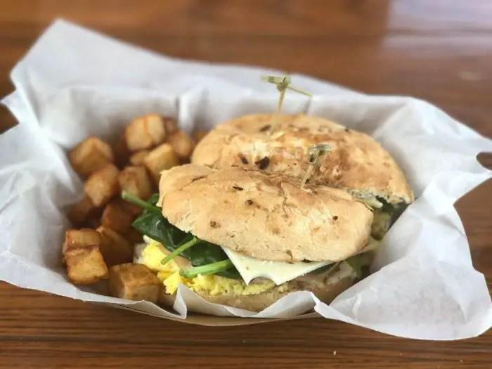 Fairfax Fare Breakfast Sandwich