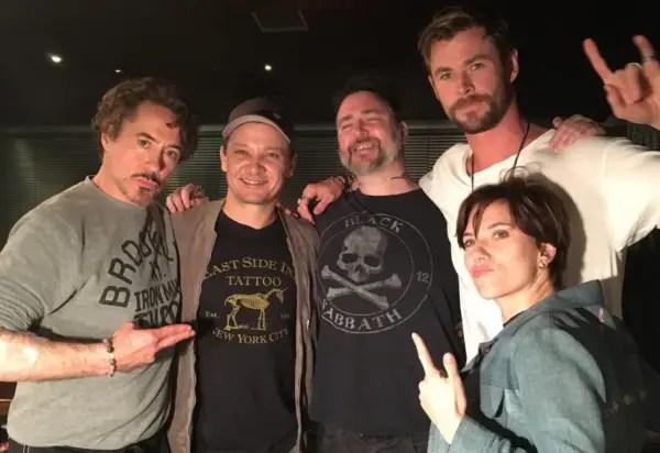 Avengers Assemble to Get Matching Tattoos