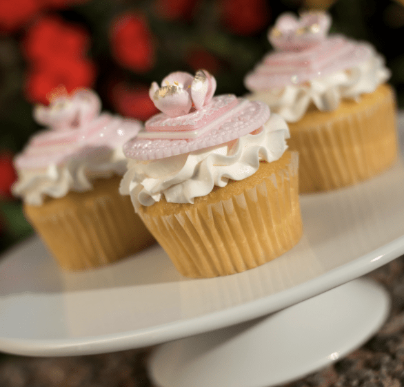 Pink Mother's Day Cupcake