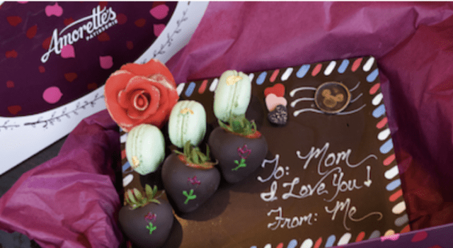 Chocolate Letter from Amorettes