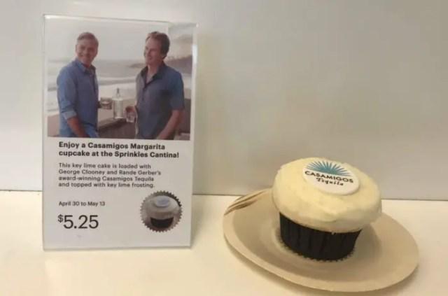 George Clooney Casamigos Tequila Cupcake