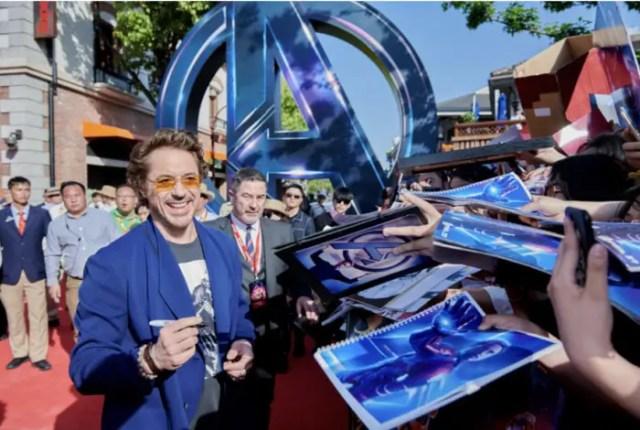 Avengers: Infinity War Stars Make An Appearance at Shanghai Disney 4