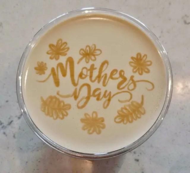 Joffrey's Coffee in Disney Springs Debuts Mother's Day Latte Art 2