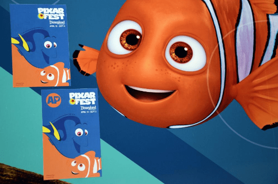 new Disneyland Passholders Pixar decal