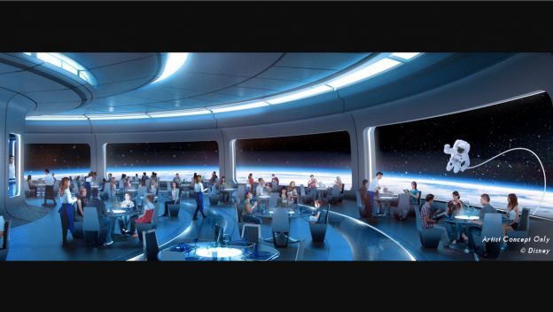 Space-Themed Restaurant Lands in Future World at Epcot 1