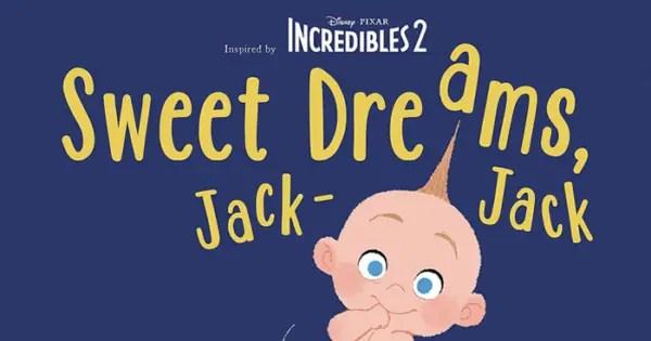 Sweet Dreams, Jack-Jack Book