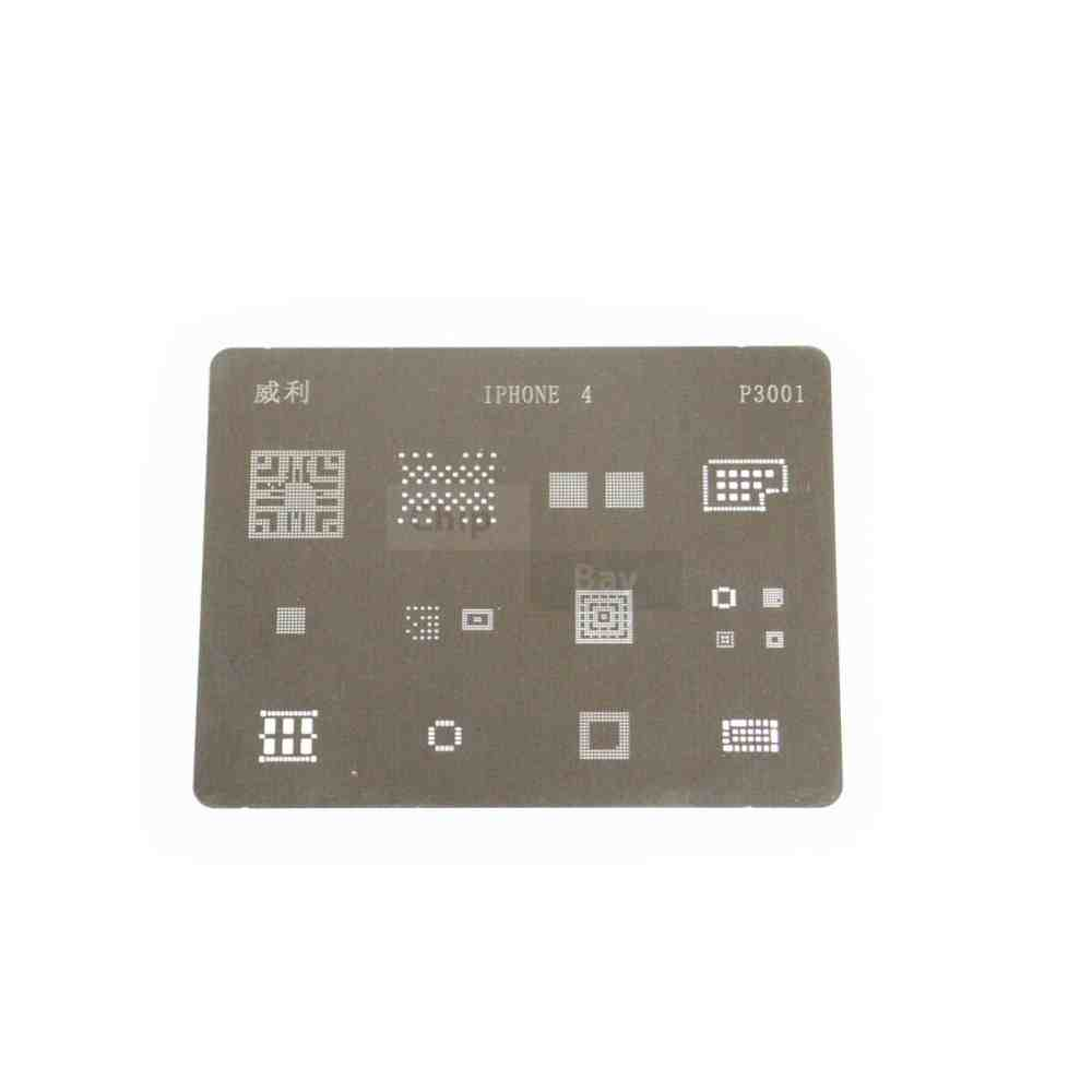 medium resolution of direct heating bga stencil for apple iphone 4 logic board components 16 in 1 chipbay