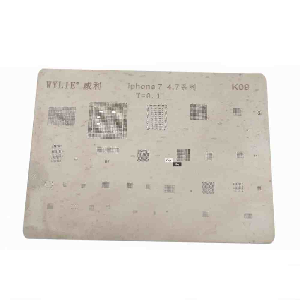 medium resolution of direct heating bga stencil for iphone 7 4 7 logic board components chipbay
