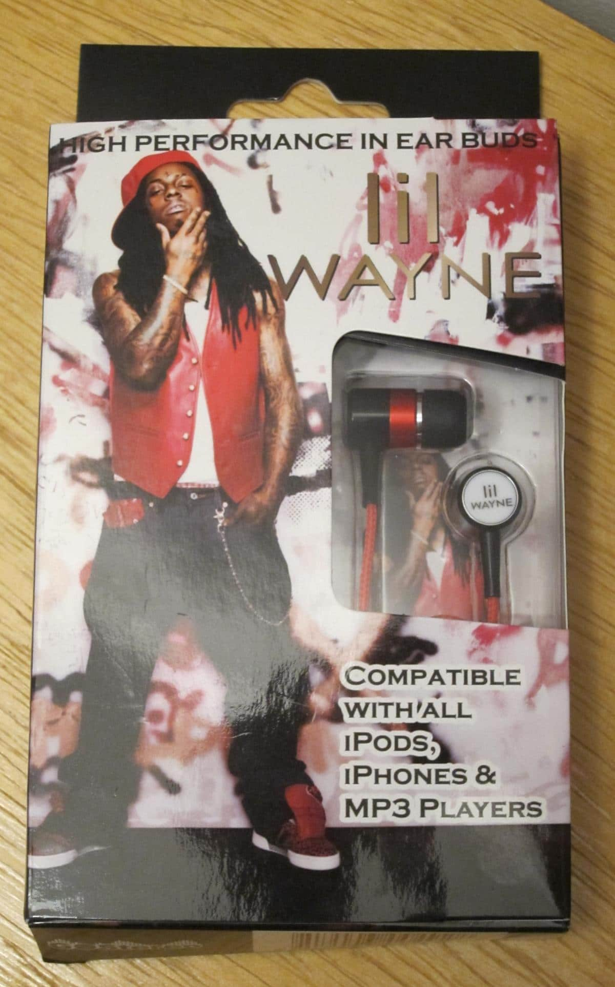 Live Nation Lil Wayne High Performance In Ear Buds