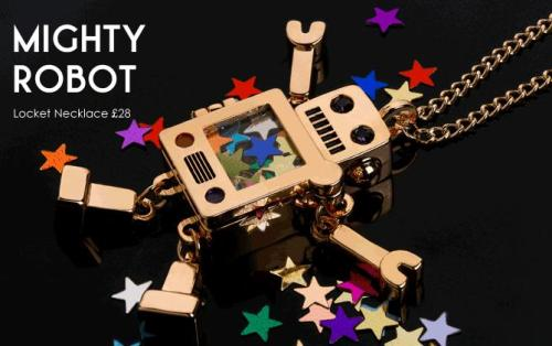 Mighty Robot necklace