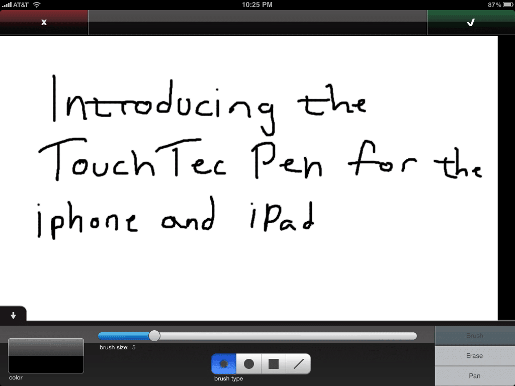 TouchTec Pen iPhone/iPad Stylus Review