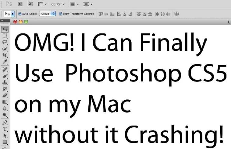 How to fix photoshop cs5 mac from crashes on type tool share on facebookshare on twitter ccuart Images