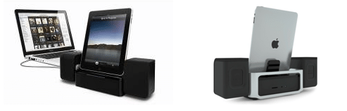 iMM747 duo shot iLuv iMM747 iPad Speaker Dock will Blow You Out of Bed