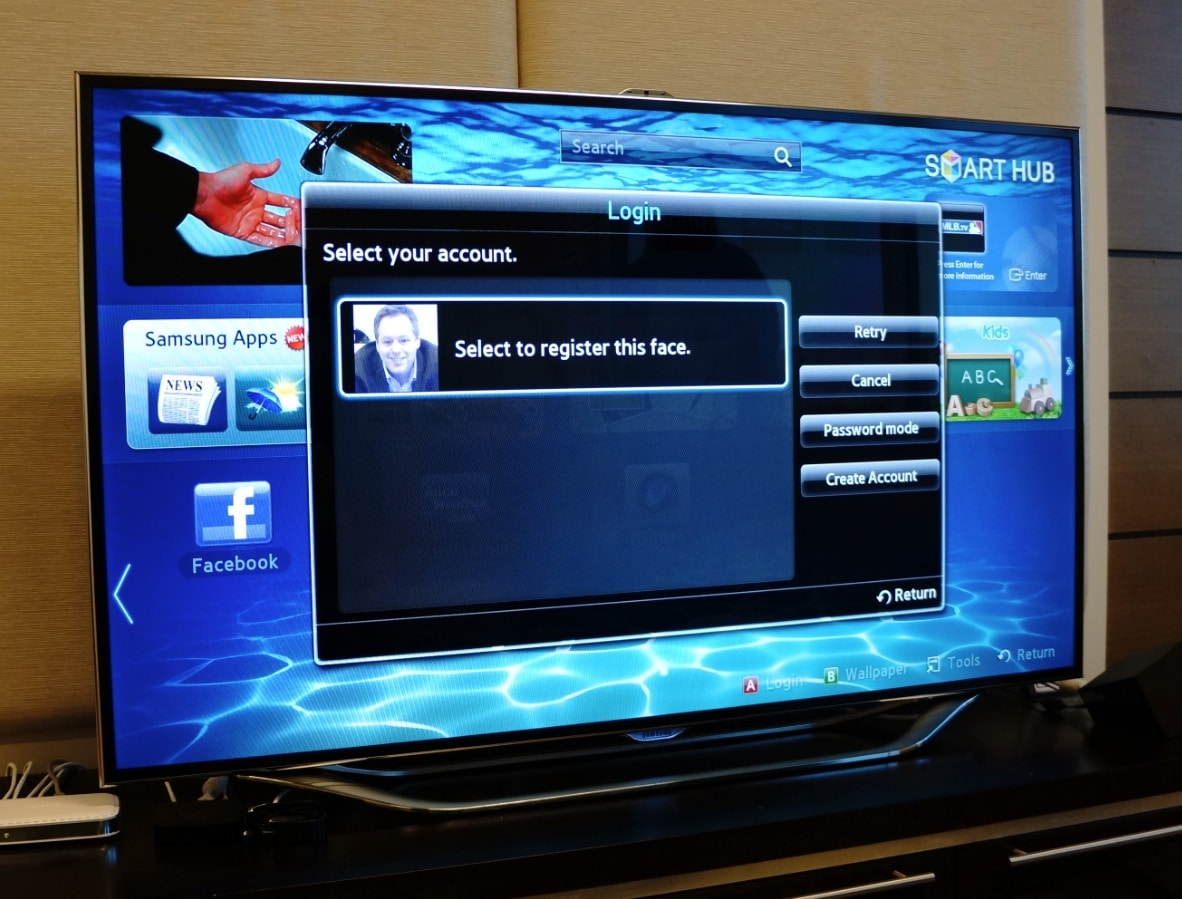 samsung es8000 smart tv offers a glimpse at the future of. Black Bedroom Furniture Sets. Home Design Ideas