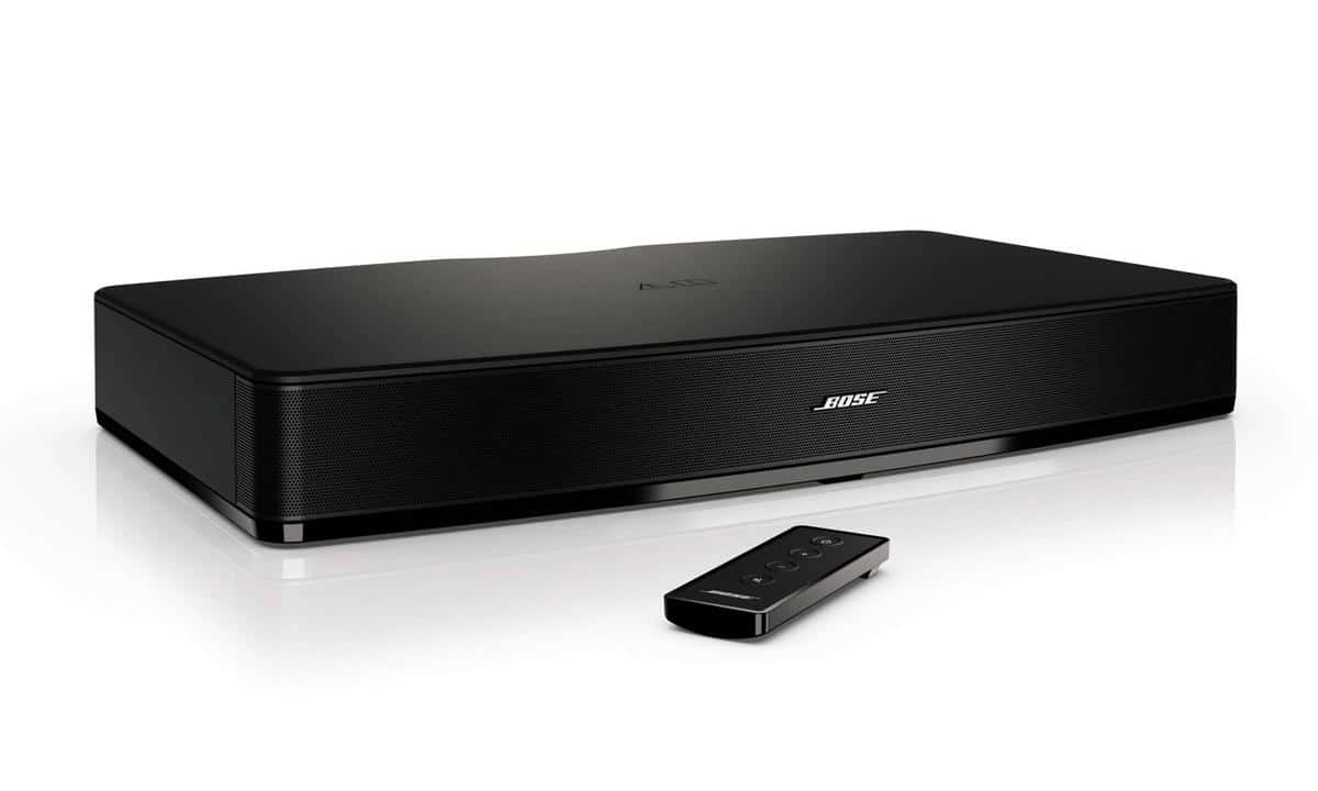 your tv is about to get an audio boost with the bose solo. Black Bedroom Furniture Sets. Home Design Ideas