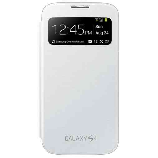 GS4 S View Flip Cover