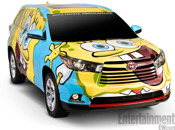 SpongeBob SquarePants Concept Vehicle Coming To A Town Near You - Spongebob decals for cars