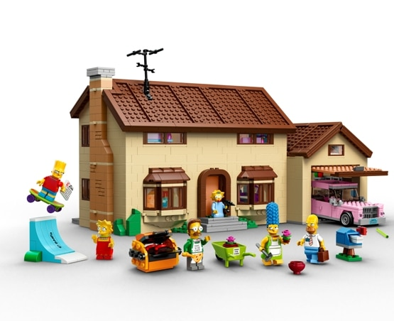 550_The Simpsons family house