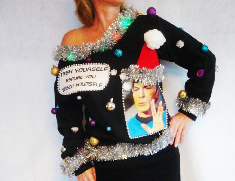 22 of the geekiest ugly christmas sweaters money can buy chip chick share on facebookshare on twitter solutioingenieria Images