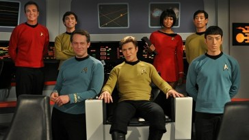 The Cast of the fan made Star Trek Continues