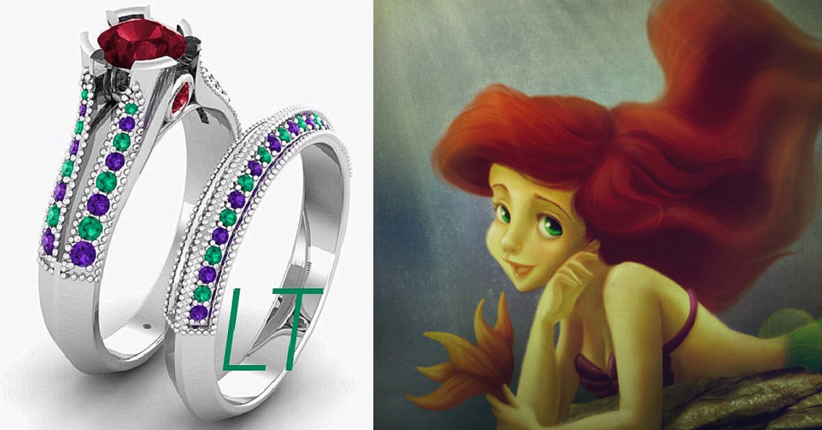 23 DisneyInspired Engagement Rings for Your Future Prince or Princess