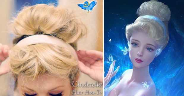cinderella hair styles 18 disney themed hair tutorials that will transform you 6696